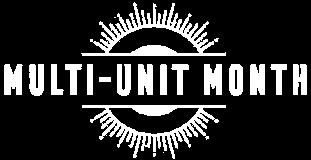 Multi unit month logo