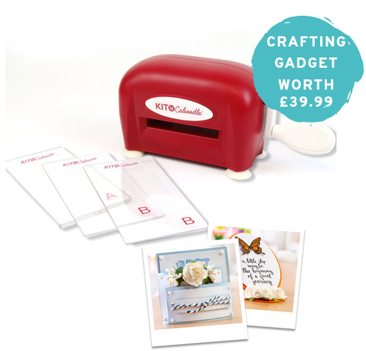 Crafting gadget worth £39.99