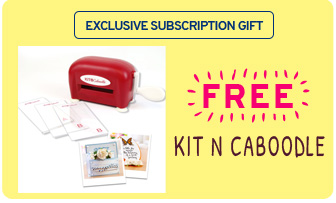 Exlusive subscription gift - free kit n caboodle