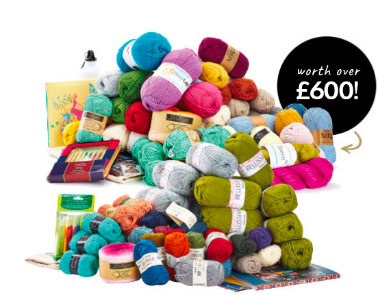 Vote and win the ultimate yarn bundle