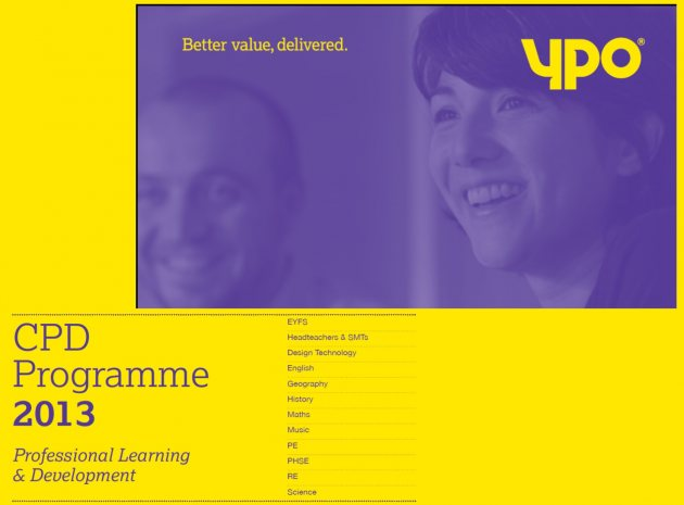 Better value CPD Courses from YPO