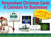 Personalised Christmas Cards & Calendars for Businesses from Festive Collection