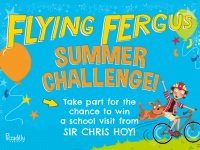 Boost Learning Over The Break With The Flying Fergus Summer Challenge