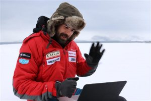 Extreme teaching: technology creates Arctic classroom for all