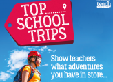 Get Top School Trips Magazine Sent Straight to your School – Free