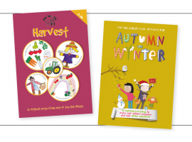 Product Review – My World: Harvest and The Niki Davies Book of Songs for Autumn and Winter from Out of the Ark Music