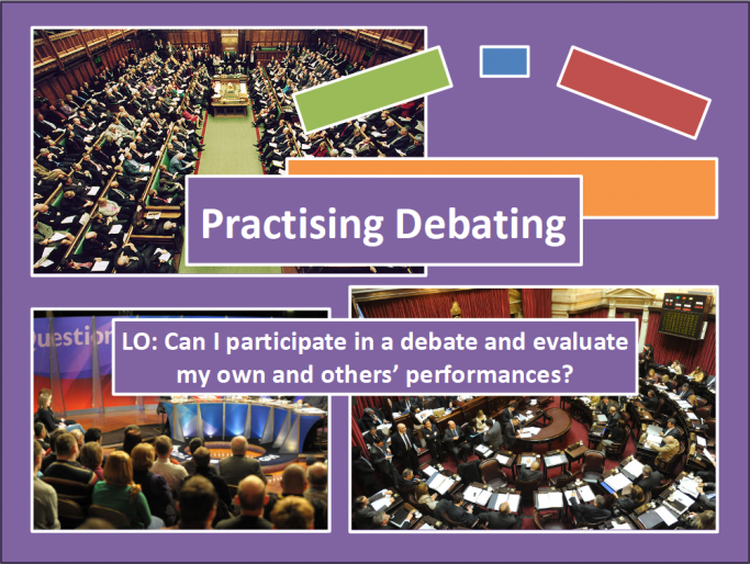 An Introduction to Debating Scheme of Work for KS3 Spoken English