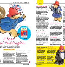 KS1 Book Topic – Celebrate his 60th Anniversary with A Bear Called Paddington