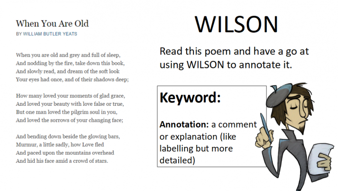 Unseen Poetry Scheme of Work for English Literature GCSE