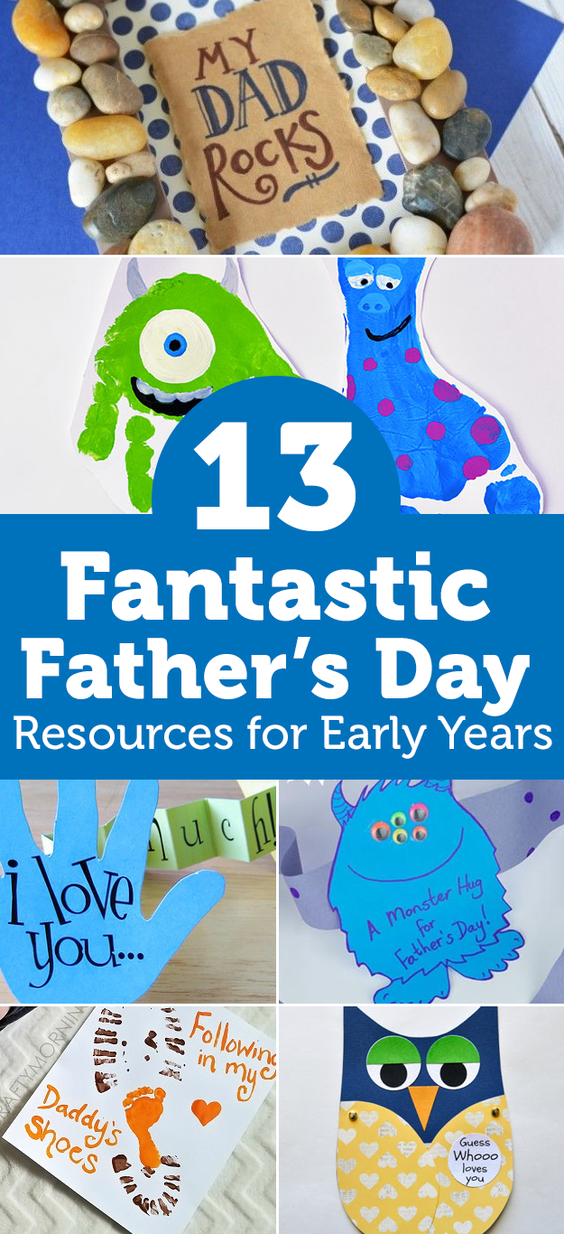 13 Fantastic Father's Day Crafting Ideas and Resources For Early Years and Primary – Updated for 2018